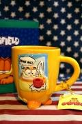 ガーフィールドマグカップ ガーフィールドマグ 底がガーフィールドマグカップ アメキャラマグ アメリカ雑貨屋 サンブリッヂ 通販
