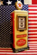 ガスポンプキャビネット テキサコ 2段棚 ガソスタ ガソリンオイル アメリカ雑貨屋 サンブリッヂ