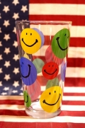 ガラスタンブラー スマイルロンググラス スマイルグラス アメリカ雑貨屋 サンブリッヂ