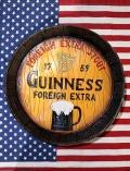 ギネス樽看板 ギネスビール看板 ギネス丸看板 バー看板 アメリカ雑貨通販 SUNBRIDGE サンブリッヂ