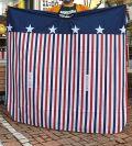 星条旗ヘアカットクロス ヘアクロス USAヘアクロス アメリカ雑貨屋 サンブリッヂ アメリカ国旗通販