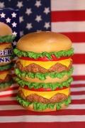 ハンバーガーコインバンク ハンバーガー貯金箱 アメリカン貯金箱 アメリカ雑貨通販 アメリカ雑貨屋 サンブリッヂ