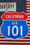 ハイウェイ看板 カリフォルニア看板 カリフォルニア101 アメリカ雑貨通販 サンブリッヂ 道路標識