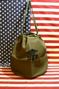 USホスピタルバッグ ミリタリー巾着 ミリタリーバッグ アメリカ雑貨屋 サンブリッヂ