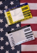 車検シール 車検標章ステッカー 2017年サイズ車検ステッカー アメリカ雑貨屋 サンブリッヂ
