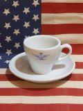 イタリア軍デミタスカップ&ソーサー ミリタリー デッドストック 新品 軍もの アメリカ雑貨屋 サンブリッジ