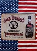 ジャックダニエル看板 ウィスキー看板 バー看板  アメリカンブリキ看板通販 アメリカ雑貨屋サンブリッヂ SUNBRIDGE 岩手雑貨