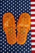 ジャイルサンダル アメリカ刑務所サンダル 囚人サンダル JAIL SANDALES アメリカ雑貨屋 SUNBRIDGE 岩手雑貨屋