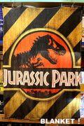 映画ジュラシックパークブランケット 恐竜毛布 アメリカンブランケット アメリカ雑貨屋 サンブリッヂ