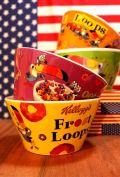 ケロッグシリアルボウル スープマグ ケロッグ食器アメリカ雑貨屋 サンブリッヂ 通販商品