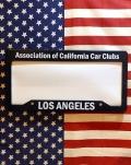 カリフォルニアカークラブラセンスフレーム カリフォルニアナンバーフレーム アメリカナンバーフレーム LAナンバーサンブリッヂ