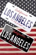 LA看板 LAブリキ看板 ロサンゼルスナンバープレート アメリカ雑貨屋 サンブリッヂ 通販