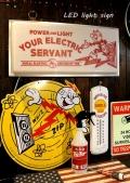 レディキロワットLEDライトサイン レディキロLEDサイン  ガレージライト アメリカ雑貨屋 サンブリッヂ アメリカン雑貨 通販