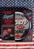 ロープネオンサイン LED看板 アメリカンダイナー看板 OPEN電飾 アメリカ雑貨屋 サンブリッヂ 通販