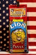 ライオンコーヒーバニラアーモンド LIONCOFFEE フレーバーコーヒー アメリカ雑貨屋 サンブリッヂ