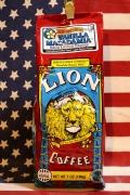 ライオンコーヒーバニラマカダミア LIONCOFFEE フレーバーコーヒー アメリカ雑貨屋 サンブリッヂ