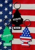 リトルツリーキーホルダー リトルツリー星条旗キーホルダー LittleTreesキーホルダー アメリカ雑貨屋サンブリッヂ SUNBRIDGE 岩手雑貨
