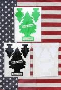 リトルツリーステッカー カットアウトシート Little Trees3枚セット アメリカ雑貨屋 サンブリッヂ