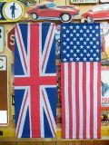 フラッグタペストリー ロングタペストリー 星条旗 アメリカ国旗 イギリス国旗 世田谷ベース アメリカ雑貨屋 サンブリッヂ 雑貨通販