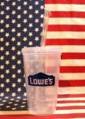 ロウズタンブラー アメリカホームセンターロウズ LOWE'S USAタンブラー アメリカ雑貨屋 SUNBRIDGE