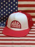 マックツールズ メッシュキャップ ワッペン付き MAC TOOLS 車 工具 アメ車 アメリカ雑貨屋 SUNBRIDGE