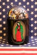 ドーム灰皿 グアダルーペ マリア メキシカン 聖母 アメリカ雑貨屋 SUNBRIDGE アメリカン雑貨通販