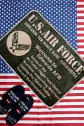 エアフォースマット  ミリタリーマット 通販 アメリカ雑貨屋 サンブリッヂ
