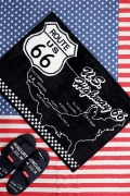 ROUTE66マット ルート66マット ルート66フロアマット アメリカ雑貨通販 アメリカ雑貨屋 サンブリッヂ