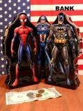 スパイダーマン貯金箱 キャプテンアメリカ預金箱 バッドマン貯金箱 マーベル通販 海外マーベル アメリカ雑貨 サンブリッヂ