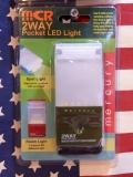 マーキュリーLEDポケットライト MERCURY MCR 電池式LEDライト アメリカ雑貨屋 サンブリッヂ