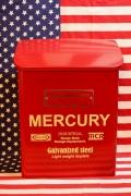 マーキュリーポスト マーキュリーメールボックス MERCURYポスト 工具箱 アメリカ雑貨屋 サンブリッヂ アメリカン雑貨通販