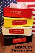 マーキュリーティッシュケース ブリキティッシュケース アメリカンティッシュカバー アメリカ雑貨屋 サンブリッヂ