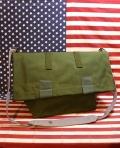 ミリタリーメッセンジャーバッグ デンマーク軍バッグ アメリカ雑貨屋 サンブリッヂ