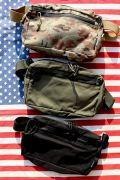 ミリタリーショルダーバッグ 迷彩バッグ ミリタリーポーチ アメリカ雑貨通販 サンブリッヂ 通販商品  通販商品