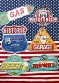 ミニブリキ看板 ルート66看板 ガレージ看板 ビール看板 GAS看板 アメリカ雑貨屋 サンブリッヂ 通販