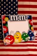 エムアンドエムズ写真立て M&M's フォトフレーム アメリカ雑貨 サンブリッヂ