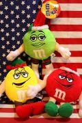 エム&エムズぬいぐるみ エム&エムズドール M&M'sクリスマスドール  アメリカ雑貨屋 サンブリッヂ