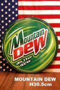 マウンテンデュー看板 アメリカ ドリンク レア 看板 ブリキ看板 MountainDew アメリカ雑貨 通販 アメリカ雑貨屋 サンブリッヂ