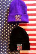 NBAニット帽 マイケルジョーダン コビーブライアント アメリカ雑貨 バスケ雑貨 通販 サンブリッヂ