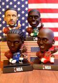 NBA スマホスタンド 首振りドール マイケルジャクソン カワイレオナード カイリーアービング カリーステフィン★