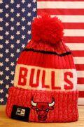 ブルズ ニット帽 シカゴブルズ 帽子 ニューエラ ニット アメリカ アメリカ雑貨 通販 サンブリッヂ