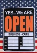 OPEN看板 PLASTIC SIGN BOARDPENプラスチック看板  オープンクローズ両面看板 アメリカ雑貨屋 サンブリッヂ 通販