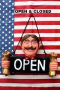 OPEN看板 オープン看板 喫茶店 カフェ 看板 アメリカ雑貨屋 サンブリッヂ 看板通販
