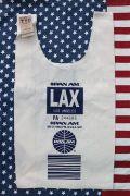 パンナムマルシェバッグ エコバッグ PANAM ロサンゼルス LAX アメリカ雑貨屋通販 サンブリッヂ