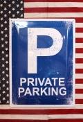 パーキング看板 駐車場看板 ブリキ看板 アメリカ雑貨屋 サンブリッヂ