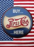 ペプシ木製看板 ペプシウッドサイン ペプシコーラ看板 PEPSI雑貨 アメリカ雑貨通販 SUNBRIDGE サンブリッヂ