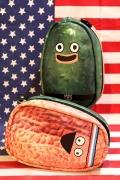 ピクルスとピーナッツ  ピクルスとピーナッツポーチ コスメポーチ ペンケース アメリカ雑貨屋サンブリッヂ SUNBRIDGE 岩手雑貨屋