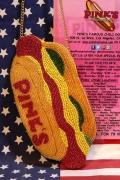 ピンクスホットドッグ スマホポーチバッグ  アメリカホットドッグ屋 PINK'S HOT DOG アメリカ雑貨通販 サンブリッヂ