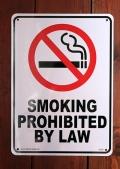 禁煙看板 プラサイン ノースモーキング アメリカ雑貨屋 サンブリッヂ