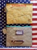 引き出しポーチ 犯罪証明書ポーチ アメリカンポーチ ウィットポーチ おもしろポーチ アメリカ雑貨屋 サンブリッヂ